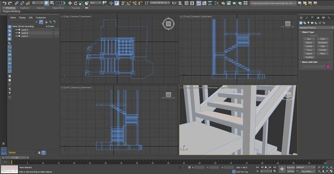 progettazione 3ds Max